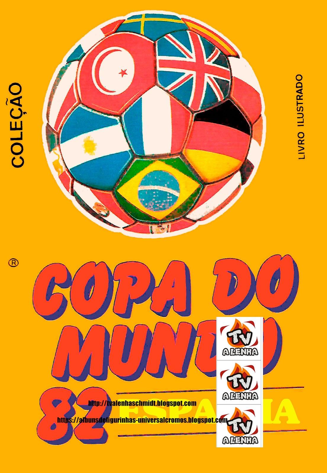 2f1753ed89 ALBUM DE FIGURINHAS - COPA DO MUNDO DE 82 ESPANHA - 1982 EDITORA ANTARES    completo com 48 figurinhas em 12 páginas.
