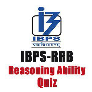 Reasoning Ability For IBPS RRB Clerk/PO | 26- 08 - 18
