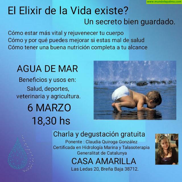 CASA AMARILLA: Agua de Mar
