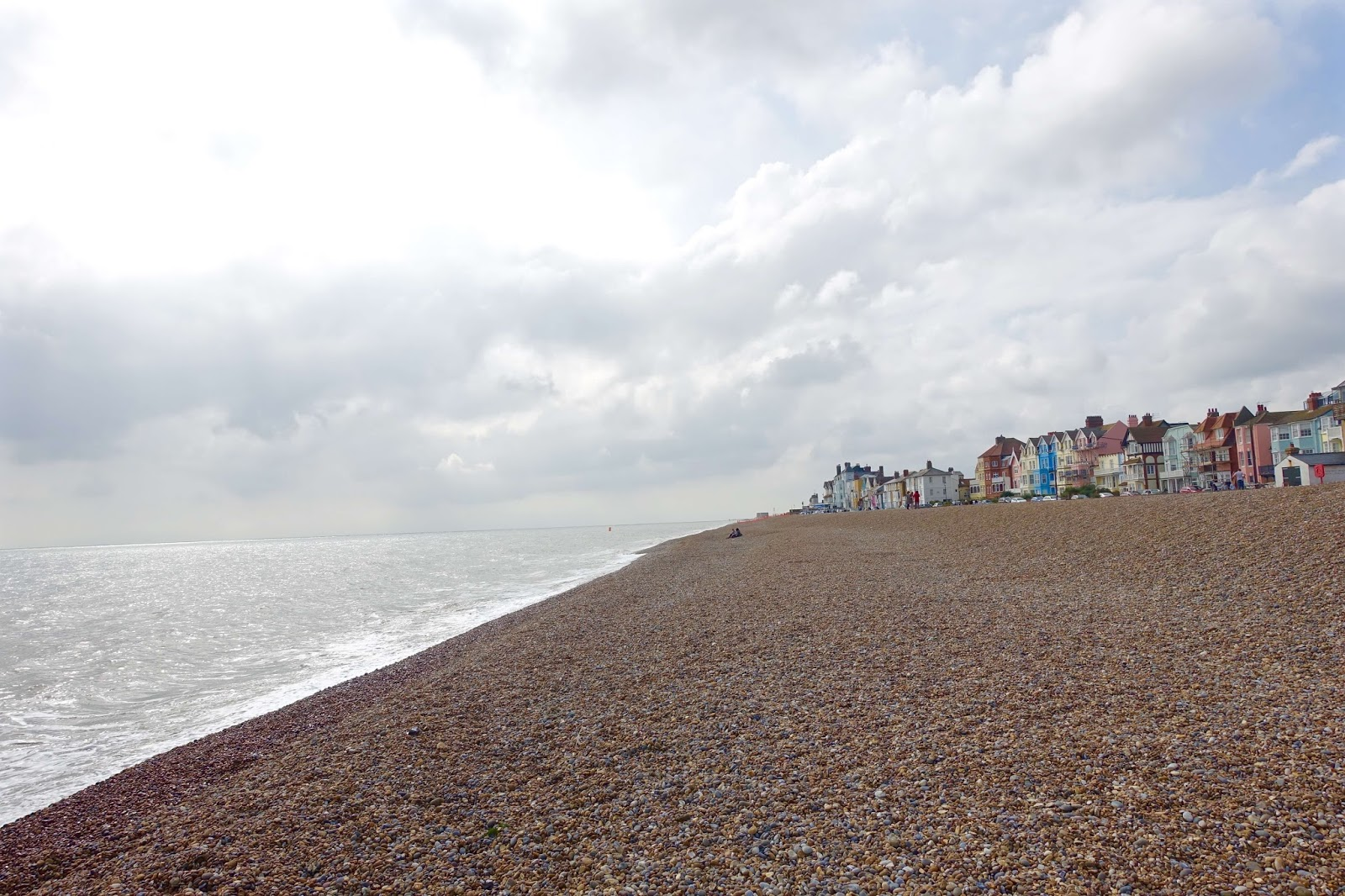 aldeburgh beach in suffolk