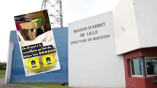 Prison de Sequedin : une enquête ouverte après la diffusion d'une vidéo sexuelle très gênante