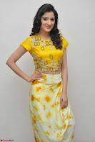 Richa Panai in Yellow Slim Fit Crop top ~ CelebxNext 025.JPG