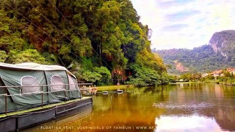 Pengalaman Glamping Di Lost World Of Tambun, Perak