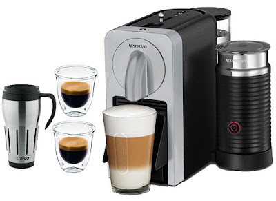 Nespresso Prodigio connected coffee and espresso maker