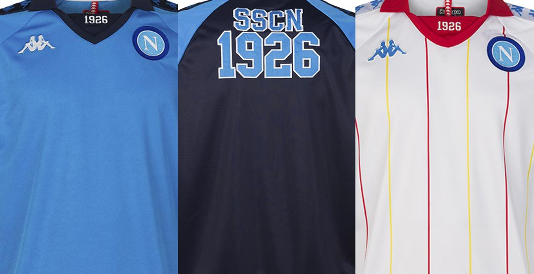 Kappa SSC Napoli Retro Jerseys + Full Collection Released - Footy ... 1e78b1d19