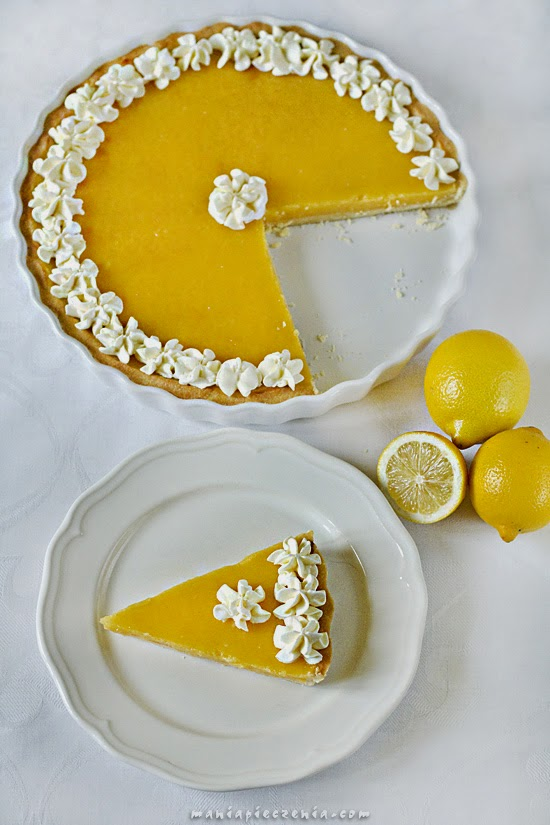 Lemon curd tart - tarta-cytrynowa