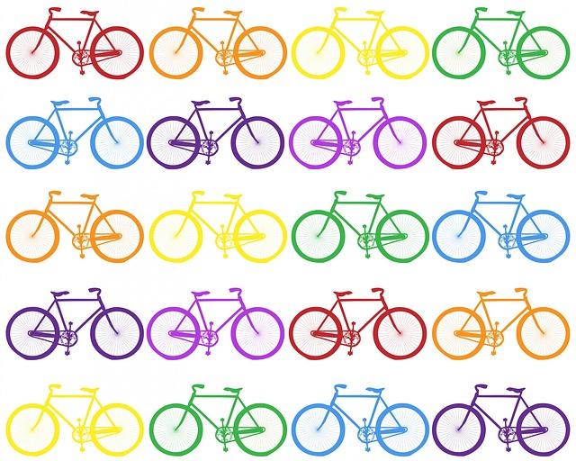 Ilustrasi Gambar sepeda dayung