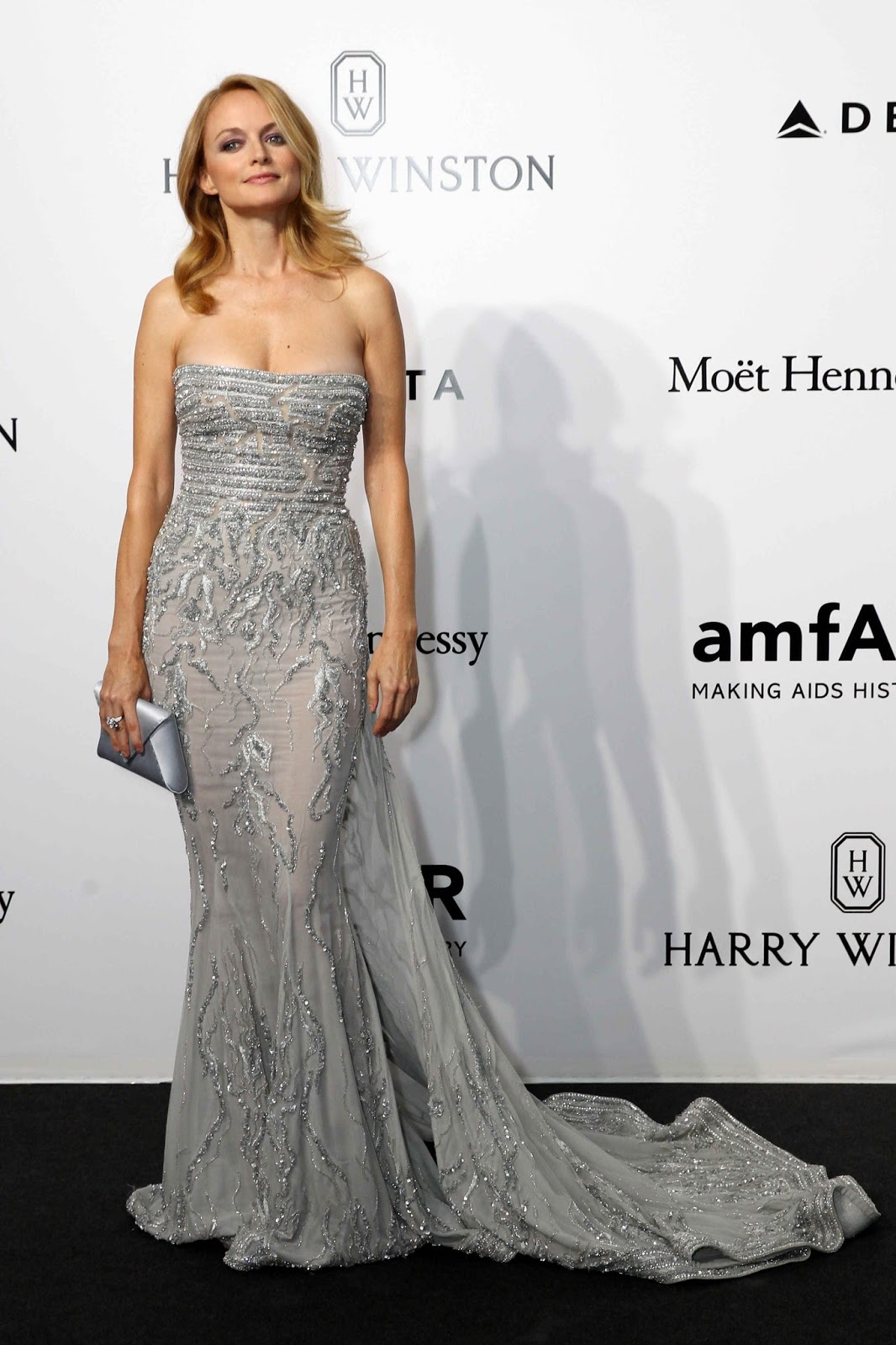 Heather Graham at amFAR Gala in Milan