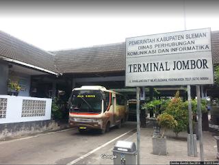 Tips  dan Trik Order Naik Gojek - Grab di Terminal Jombor Sleman Yogyakarta yang Aman
