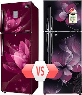 Samsung Vs LG Double door Refrigerator.