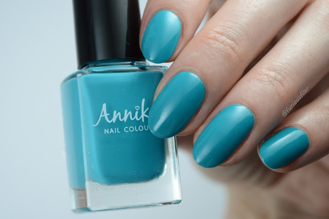 annika blue lagoon turquoise swatch edge nails furious filer