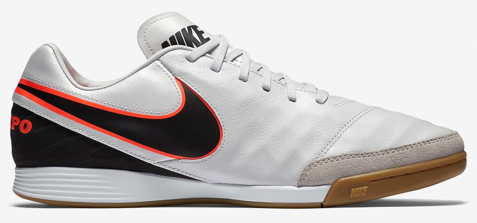 Nike Indoor Soccer Shoes Black Orange