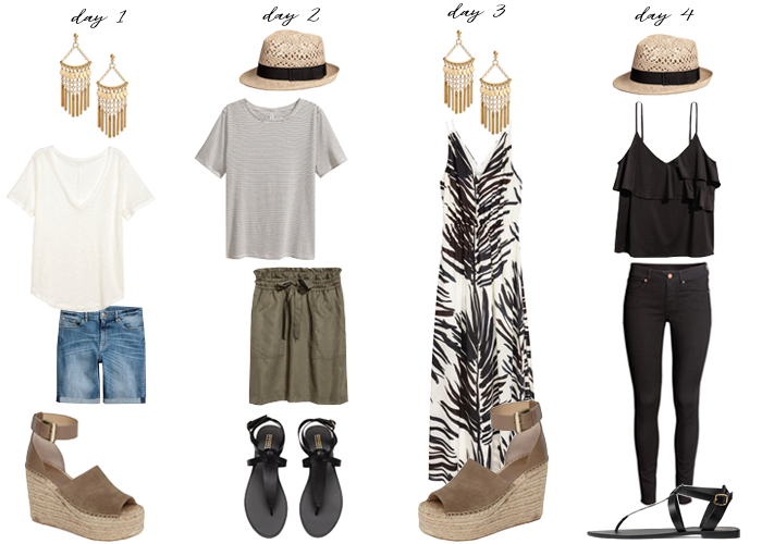 shopping your closet summer pieces