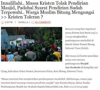 http://duniamuallaf.blogspot.co.id/2015/11/innalillahi-massa-kristen-tolak.html#more