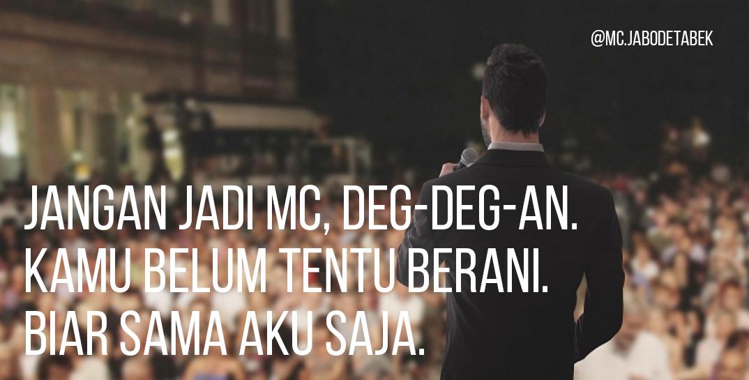 Jasa MC (Pembawa Acara) Jakarta, Bogor, Depok, Tangerang, Bekasi Terpercaya