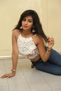 Deekshita Parvathi in a short crop top and Denim Jeans Spicy Pics Beautiful Actress Deekshita Parvathi January 2017 CelebxNext (177).JPG
