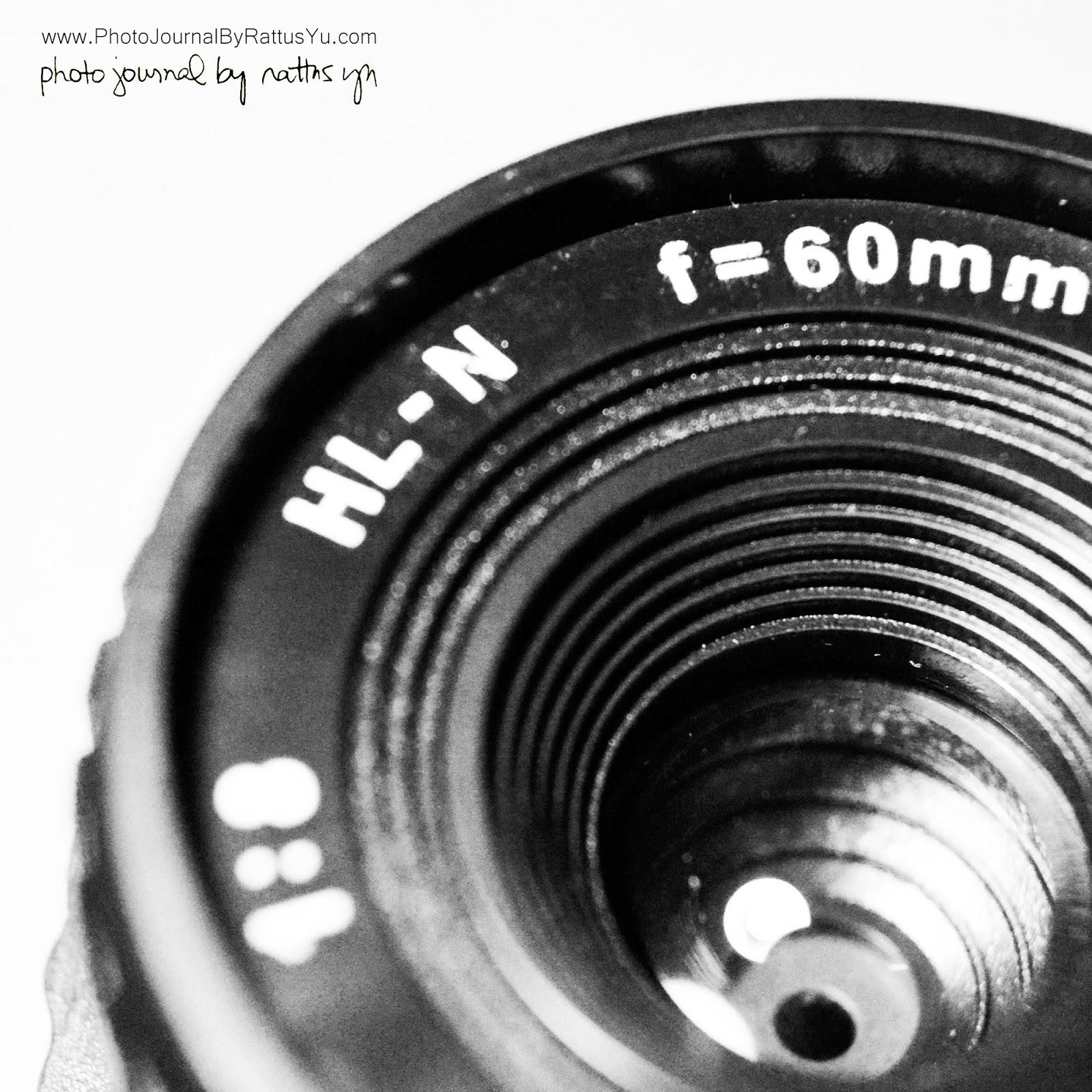 Holga HL-N 60mm f/8 for Nikon (Medium Format Lens, 165mm f/22 on APS-C!)