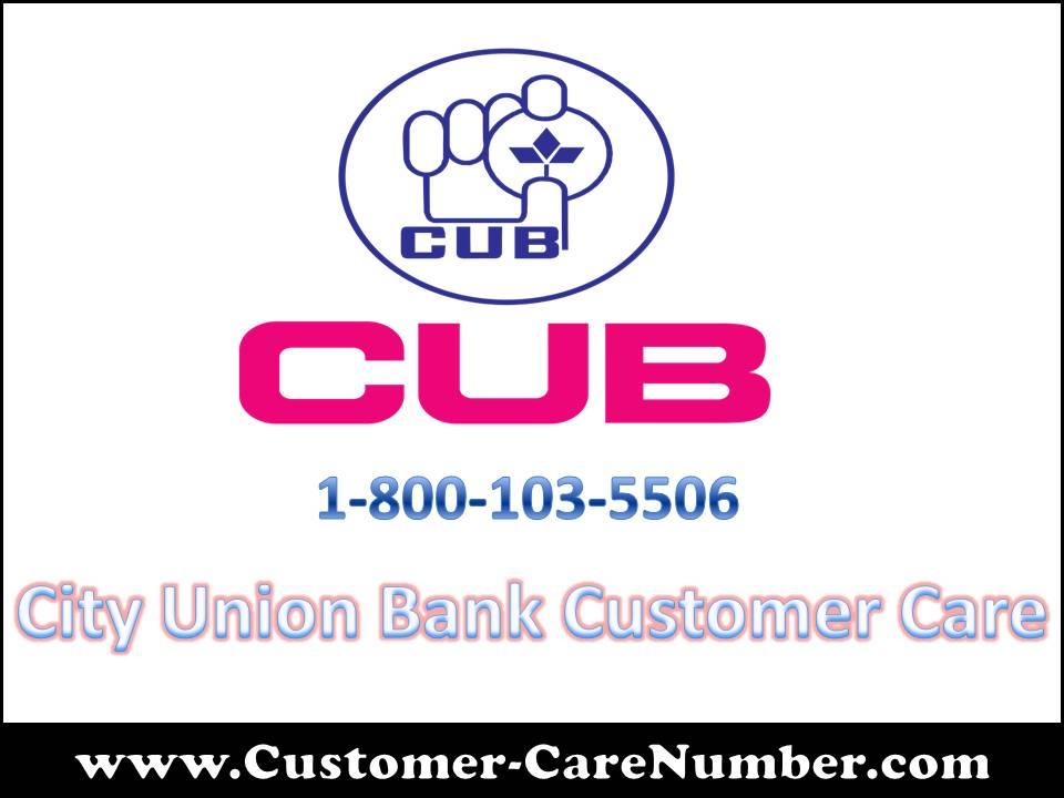 City Union Bank Customer Care
