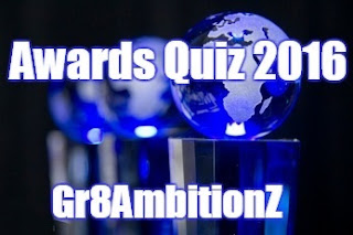 Awards of the year 2016 Quiz