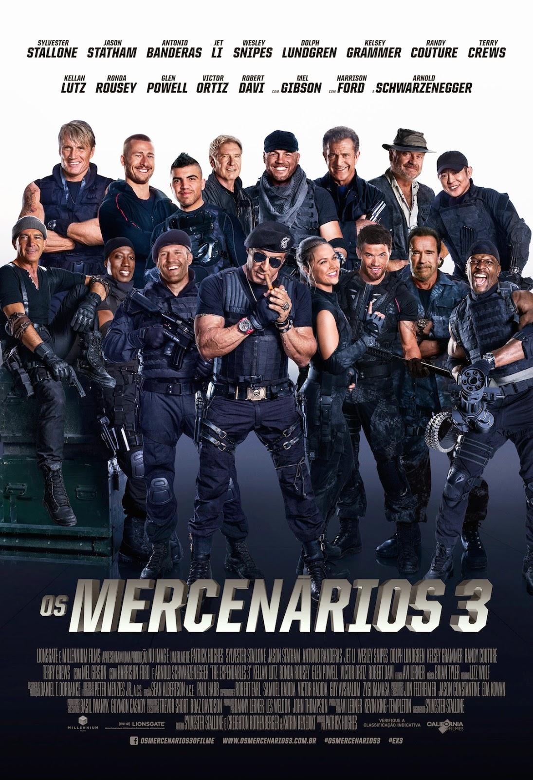 Baixar Filmes No Torrent Download Os Mercenarios 3 The Expendables 3 Avi Duau Audio 2014 Torrent