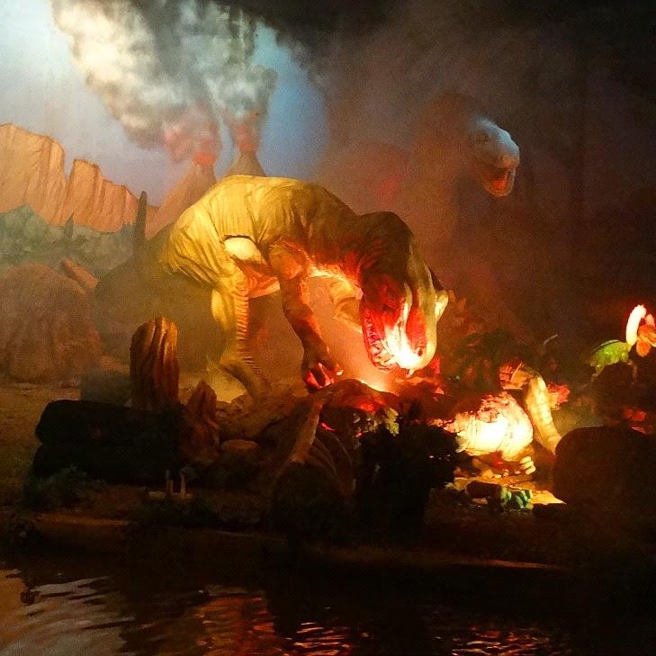 Caverna dos Dinossauros, no Dino Magic, no Beto Carrero World