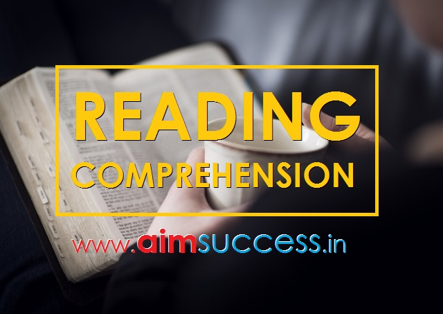 Reading Comprehension for SBI PO/Clerk 2018: 06 June