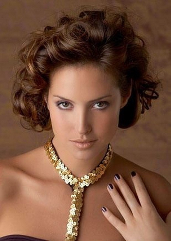 Sensational Short Curly Hairstyles Short Haircuts 2013 Haircuts 2013 Prom Hairstyle Inspiration Daily Dogsangcom