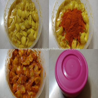 lemon pickle andhra style recipe how to make