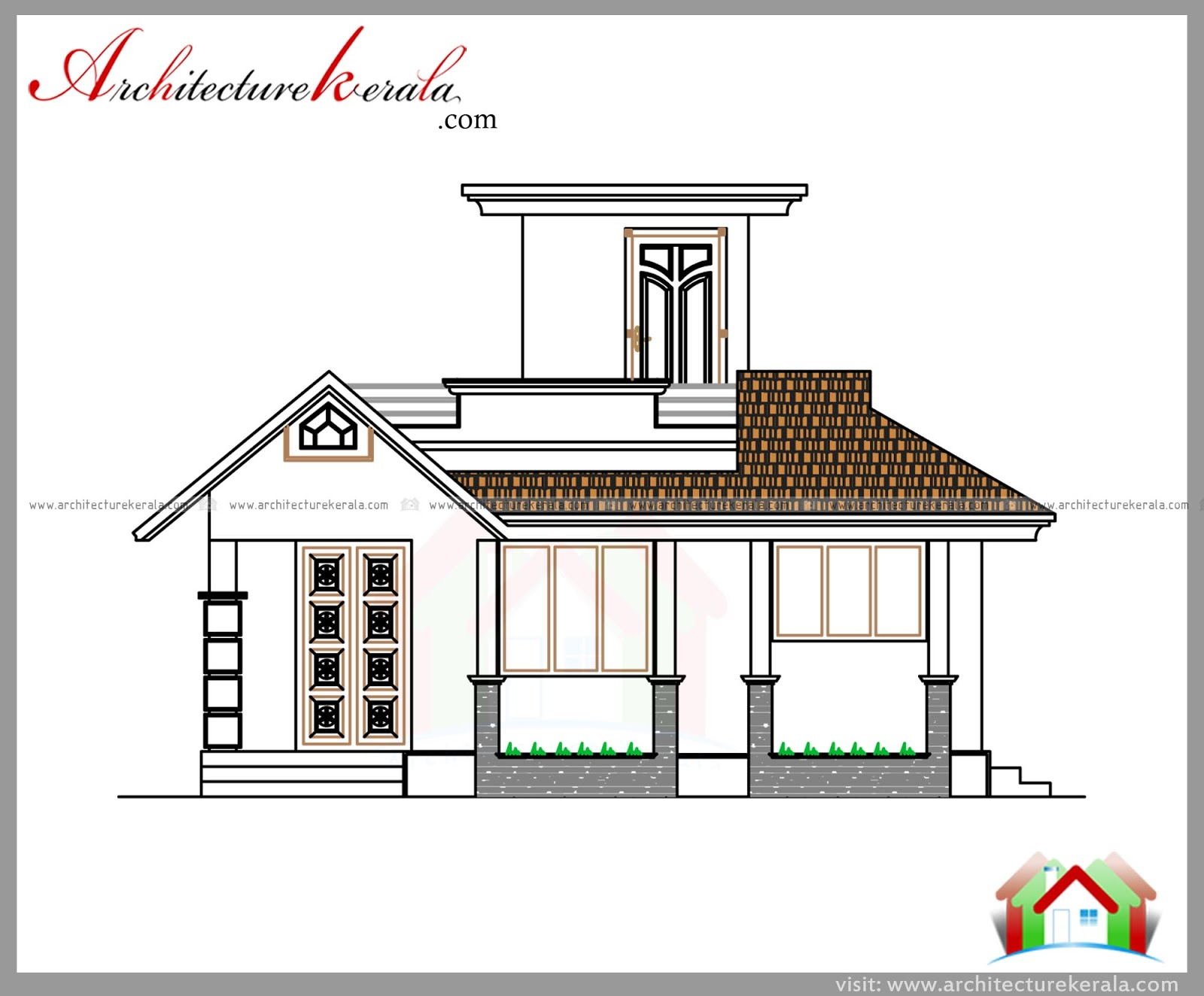 Kerala home plans and estimates for House plans with estimated cost to build in kerala