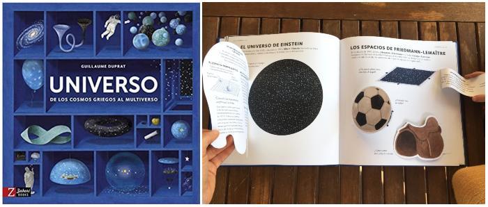 Libro informativo recomendado +8 edad Universo de los cosmos griegos al multiverso