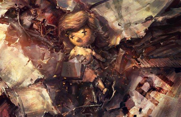 Mazert Young artstation ilustrações sombrias games arte conceitual fantasia oriental