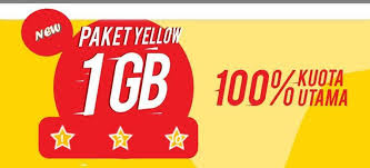 paket internet yellow