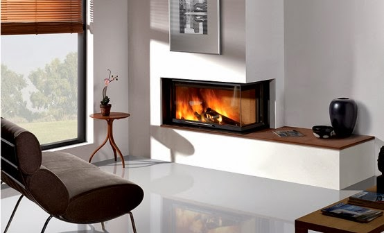 Home Decor Modern Built In Fireplaces By Rocal