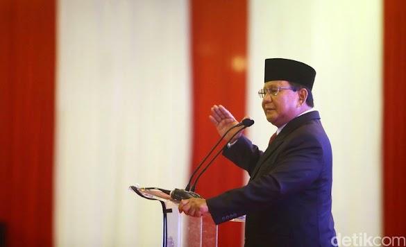 Prabowo Bahagia KPK Akui Ada Kebocoran Negara Rp2.000 T