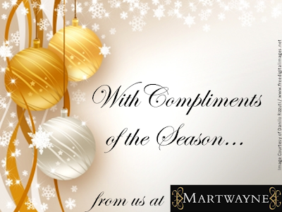 With Compliments of the Season…