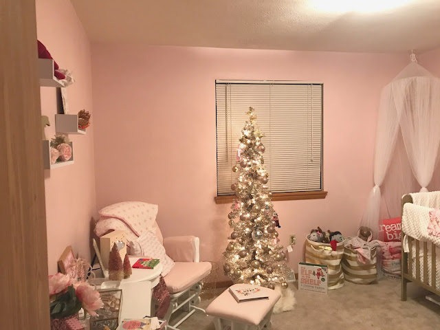 pink-and-gold-nursery