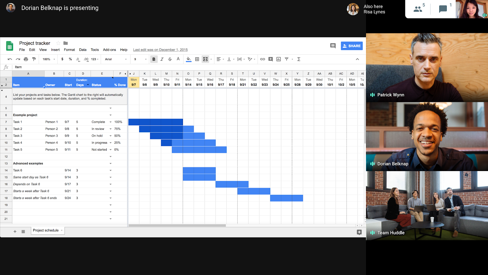 G Suite Updates Blog: New adaptive meeting layouts in