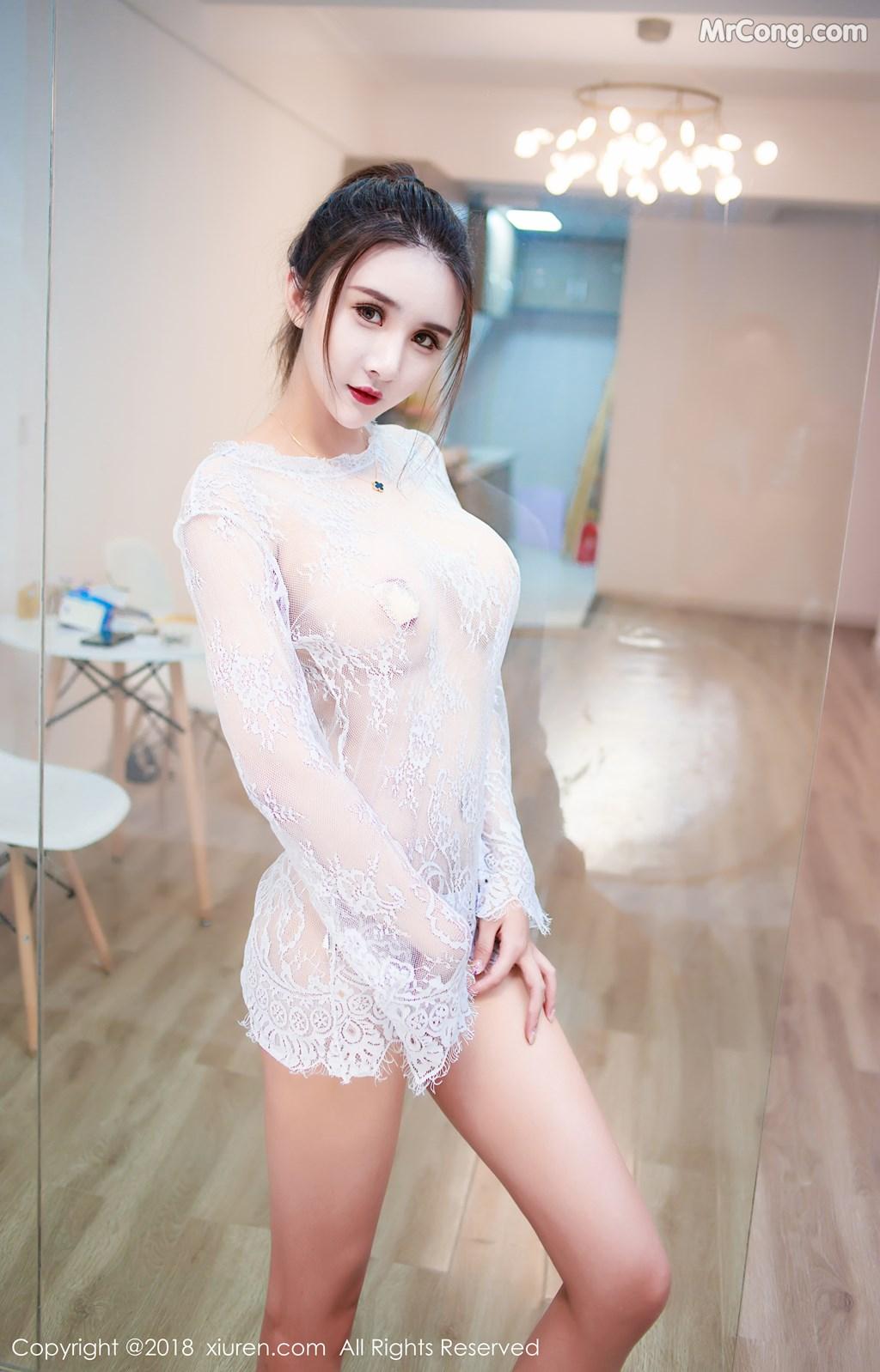 Image XIUREN-No.1283-SOLO-MrCong.com-010 in post XIUREN No.1283: Người mẫu SOLO-尹菲 (46 ảnh)