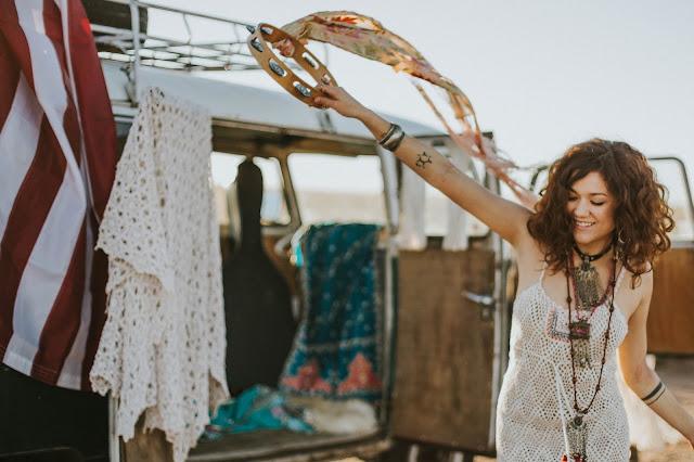 bohemian hippie girl