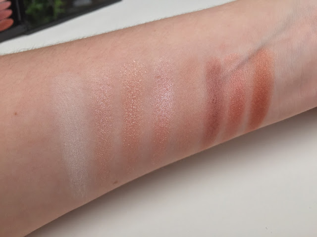 Makeup Revolution Affirmation Eyeshadow Palette Swatches