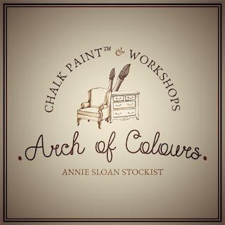 Arch of Colours: Χαρά Καραγιάννη 7 Annie Sloan Greece