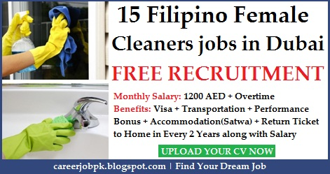 Office Cleaner jobs in Dubai