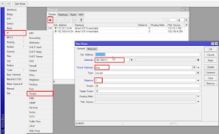 konfigurasi failover mikrotik