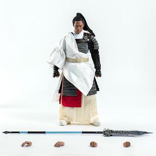 Shawn Yue Man-lok como Yang Jian en Wu Kong - Threezero