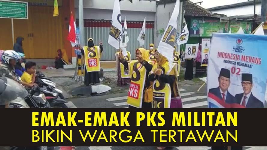 Emak-Emak PKS militan
