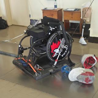 fencing wheelchair