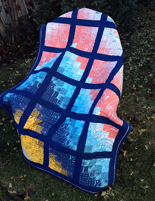 Modern Bargello Quilt Free Tutorial