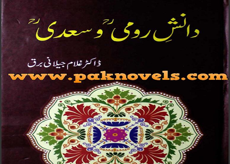 Danish-e Rumi wa Saadi by Dr.Ghulam Jelani barq