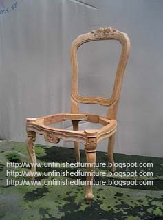 Unfinished Clic Furniture Louis Dining Chair