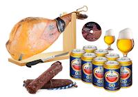 Logo Sconto 57% su Salumi: 4 kg di prosciutto, supporto legno, salame, birra e non solo a soli.....